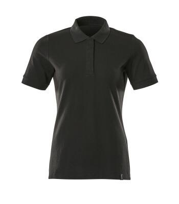 Polo-Shirt, Damen, ProWash® Polo-shirt Größe 3XLONE, vollschwarz