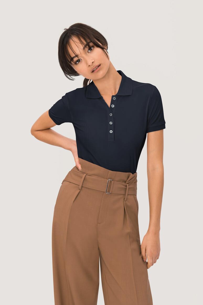 HAKRO Damen Poloshirt Bio-Baumwolle GOTS
