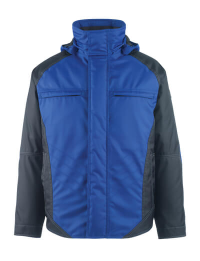 MASCOT® Frankfurt Winterjacke Größe S, kornblau/schwarzblau