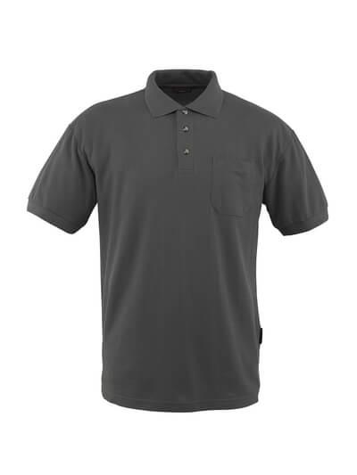 MASCOT® Borneo Polo-shirt Größe S, anthrazit