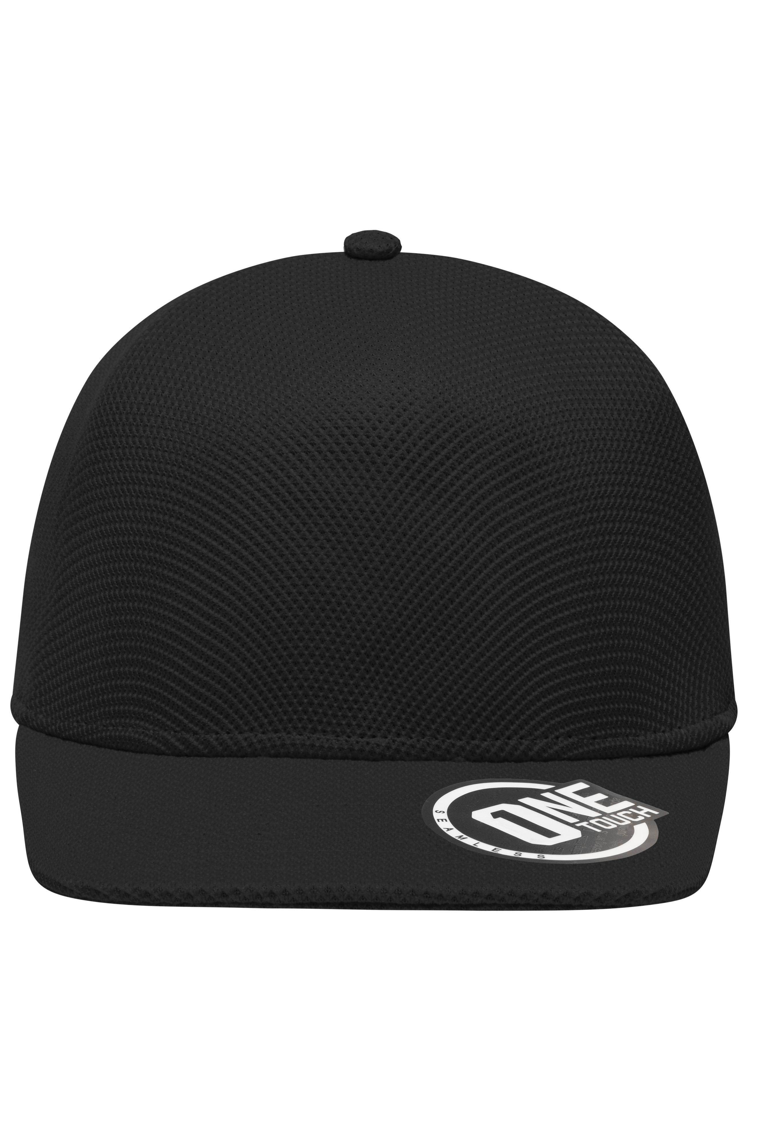 Hochwertige Cap mit nahtlos vorgeformtem Kopfbereich