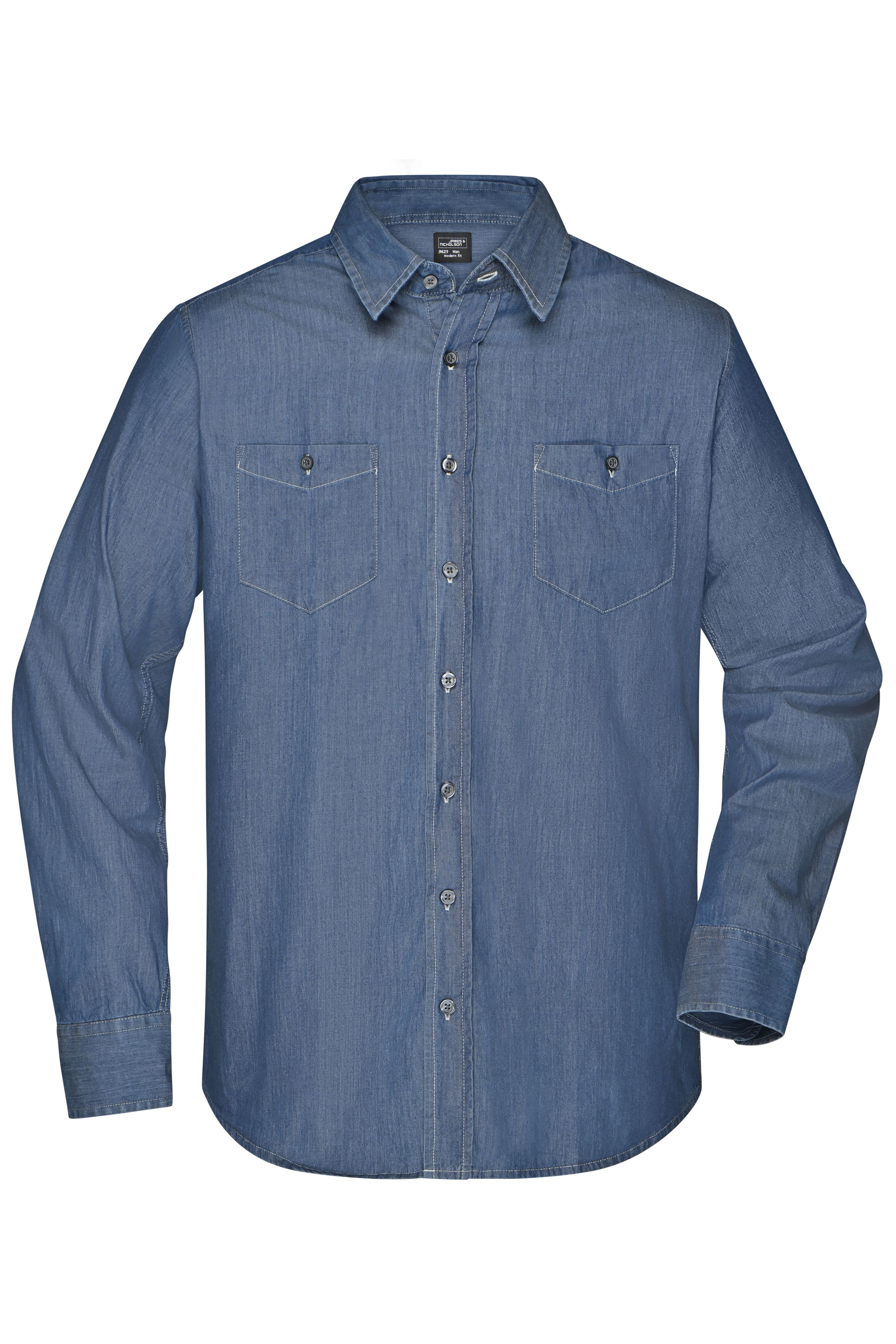 Trendiges Jeanshemd