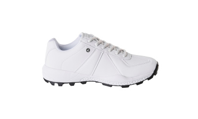 Sneaker mit Schnürsenkeln Arbeitsschuhwerk 01 Berufsschuh Größe 0942, weiss