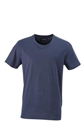 T-Shirt in aktuell trendiger Slub Qualität