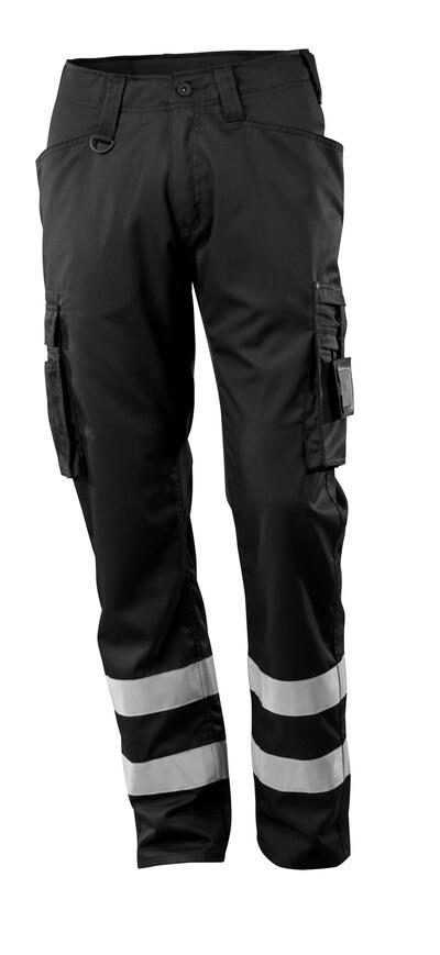 Hose, Schenkeltaschen, geringes Gewicht Servicehose Größe 82C45, schwarz