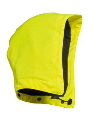 Kapuze für Schutzhelm, regulierbar Kapuze Größe ONE, hi-vis gelb