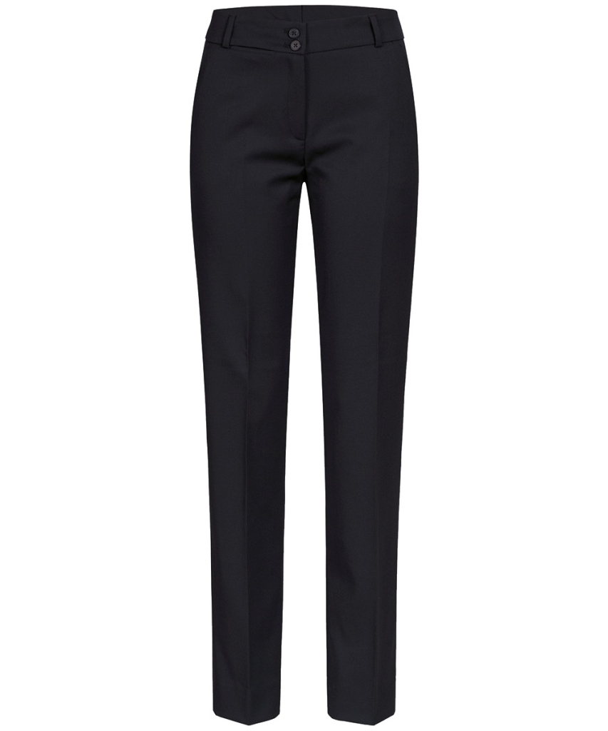 Damen-Hose Slim Fit Basic