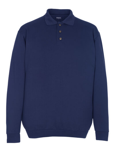 MASCOT® Trinidad Polo-sweatshirt Größe M, marine