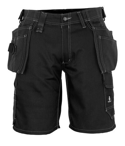 MASCOT® Zafra Handwerkershorts Größe C58, schwarz
