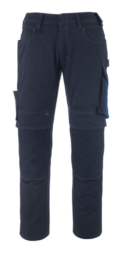 MASCOT® Erlangen Hose Größe 82C60, schwarzblau/kornblau