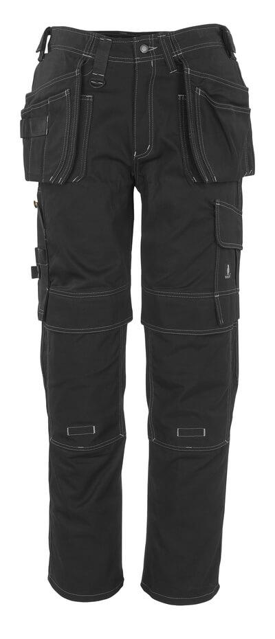 MASCOT® Atlanta Handwerkerhose Größe 82C51, schwarz