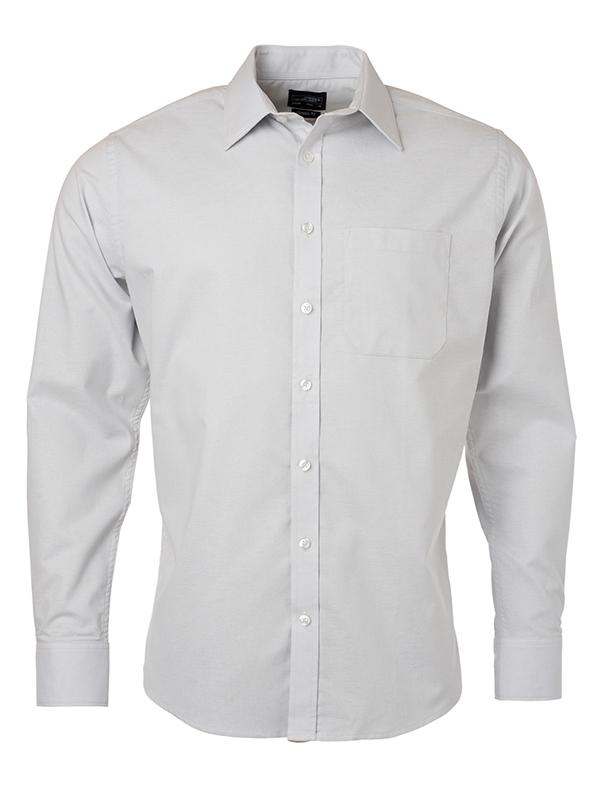 Klassisches Shirt aus pflegeleichter Mischqualität