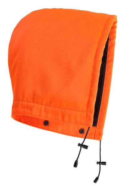 MASCOT® Macallen m. D-knopf Kapuze Größe ONE, hi-vis orange