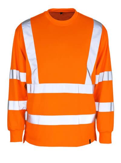 MASCOT® Melita Sweatshirt Größe XL, hi-vis orange