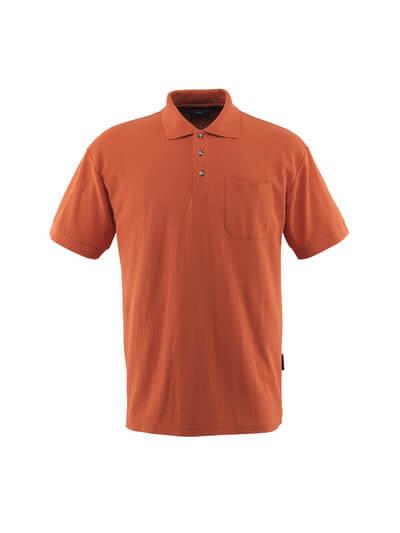 MASCOT® Borneo Polo-shirt Größe 3XL, dunkelorange