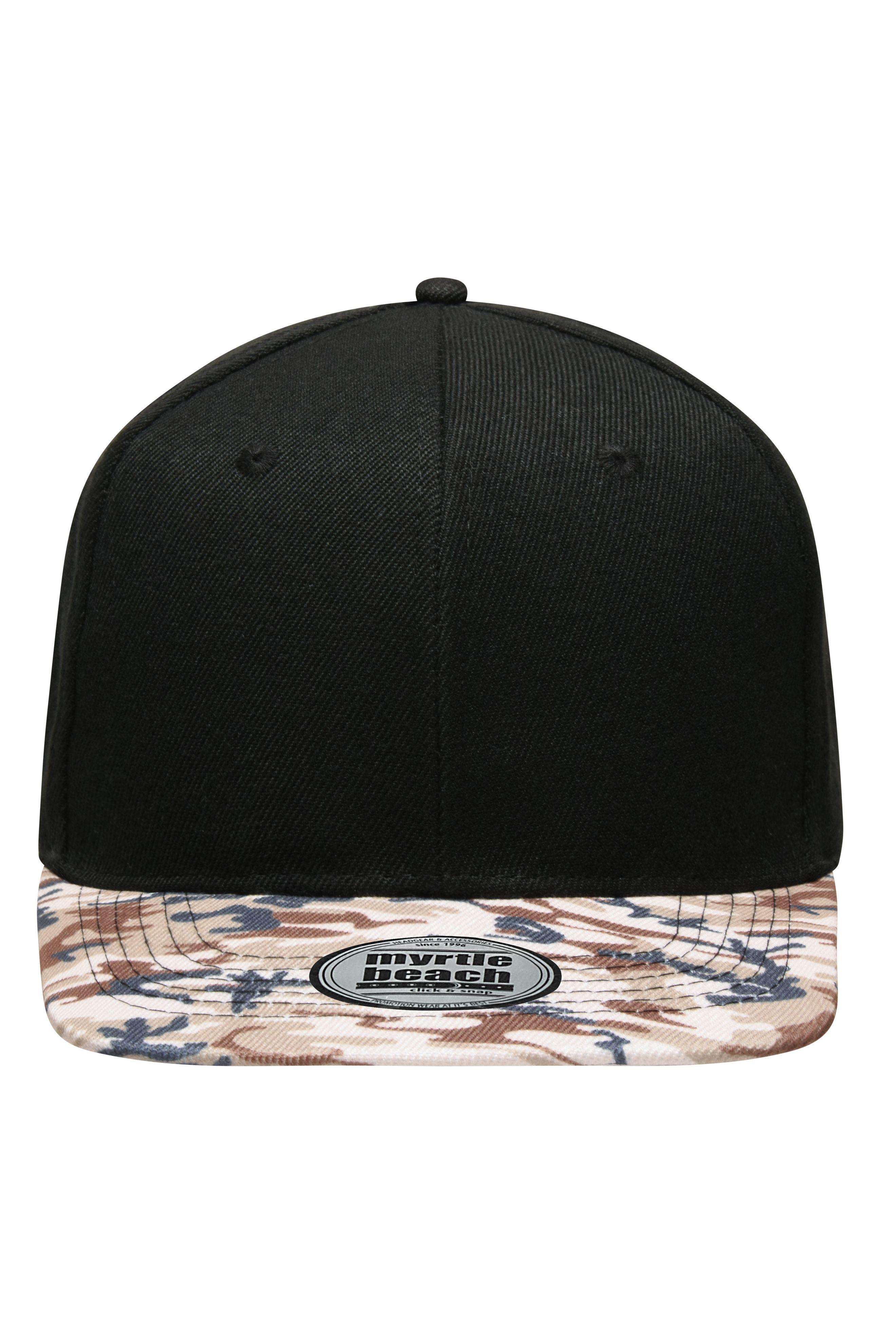 Trend-Cap, Schild mit Allover-Dessin