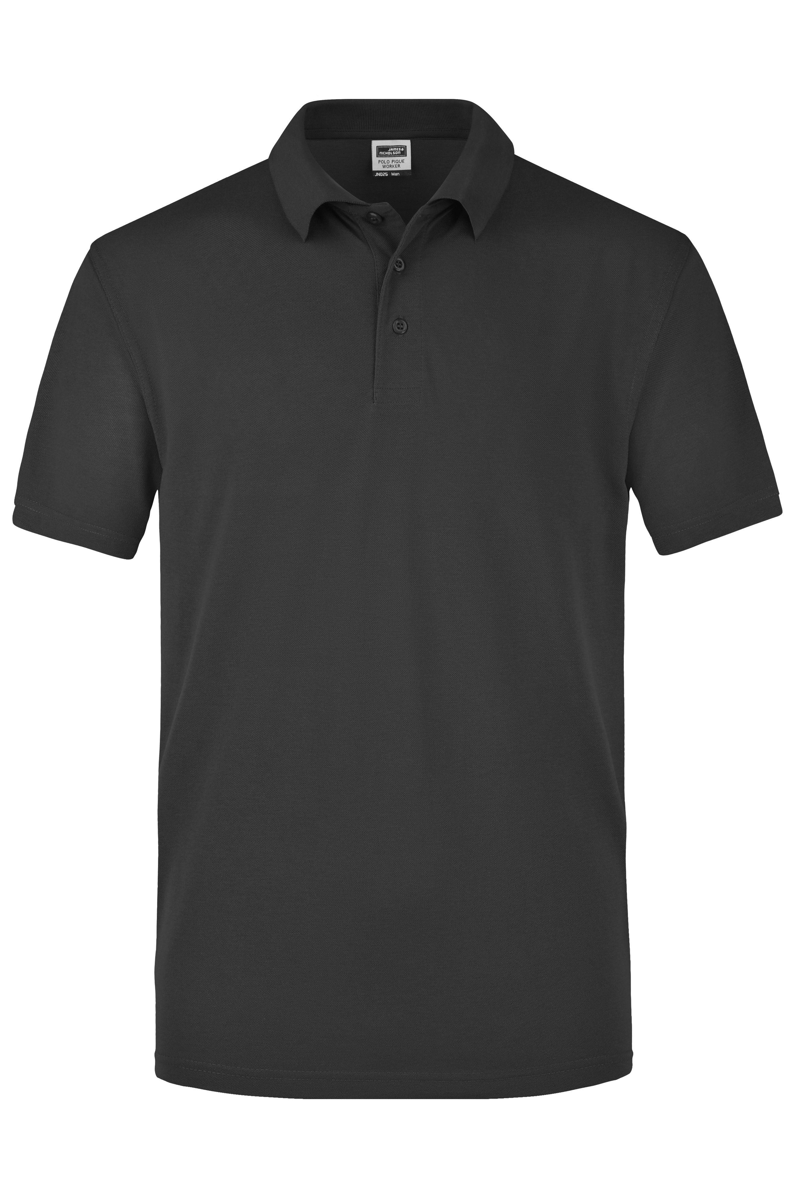 Strapazierfähiges und pflegeleichtes Piqué-Polohemd für Freizeit und Beruf