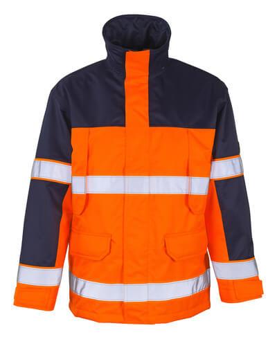 MASCOT® Savona Parka Größe 2XL, hi-vis orange/marine