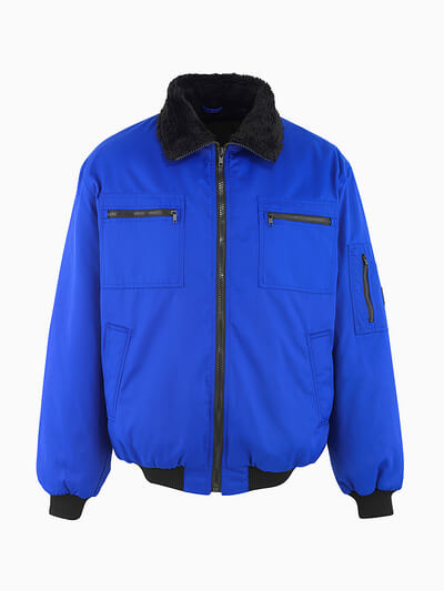 MASCOT® Alaska Pilotjacke Größe M, kornblau