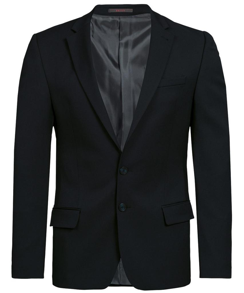 Herren-Sakko Slim Fit Basic