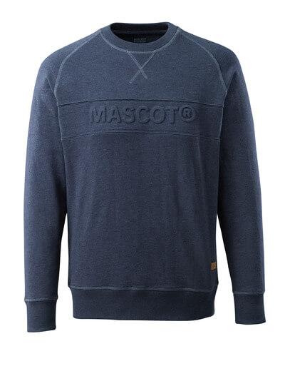 Sweatshirt mit MASCOT Prägung Sweatshirt Größe XL, gewaschener dunkler denim