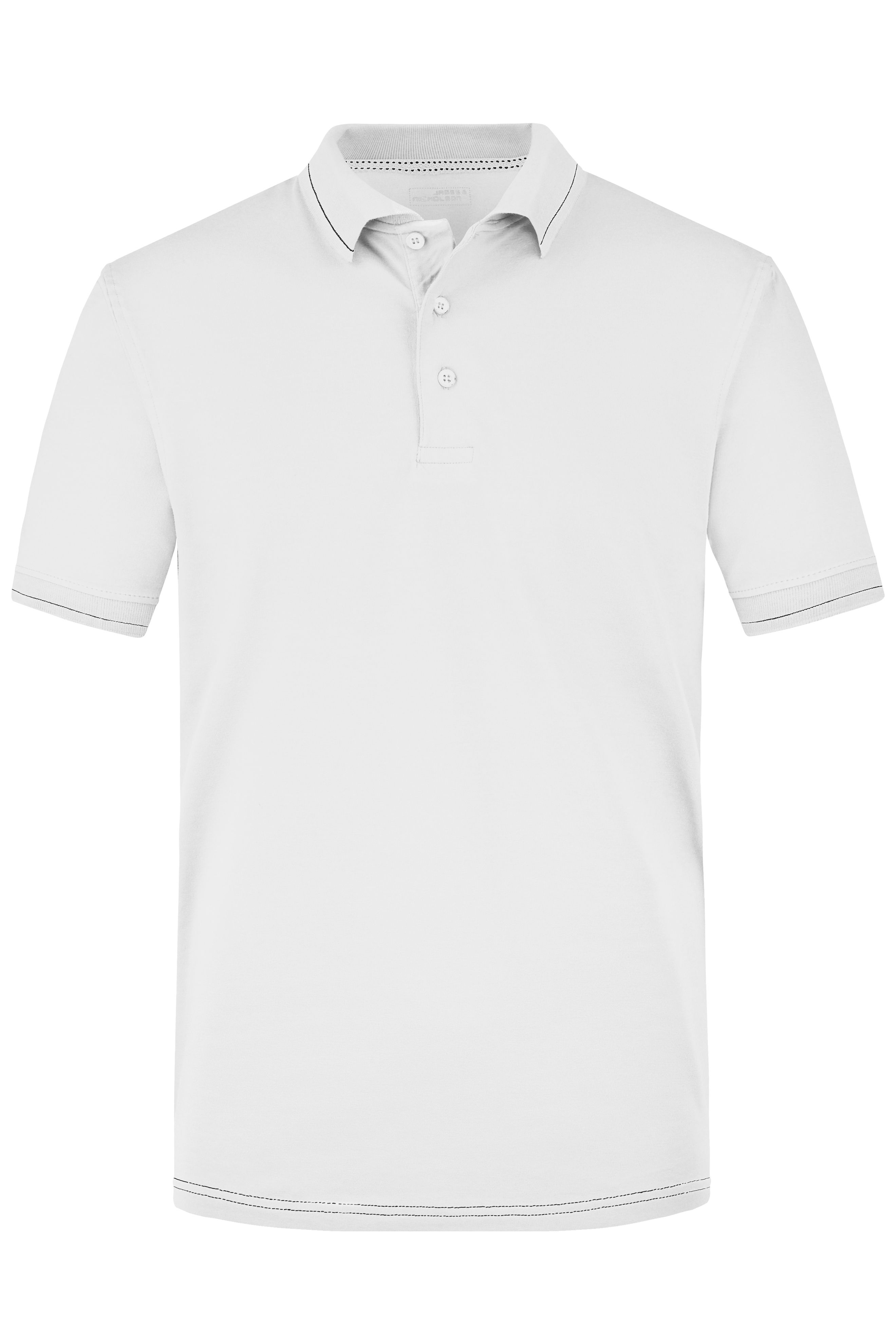 Hochwertiges Poloshirt mit Kontraststreifen
