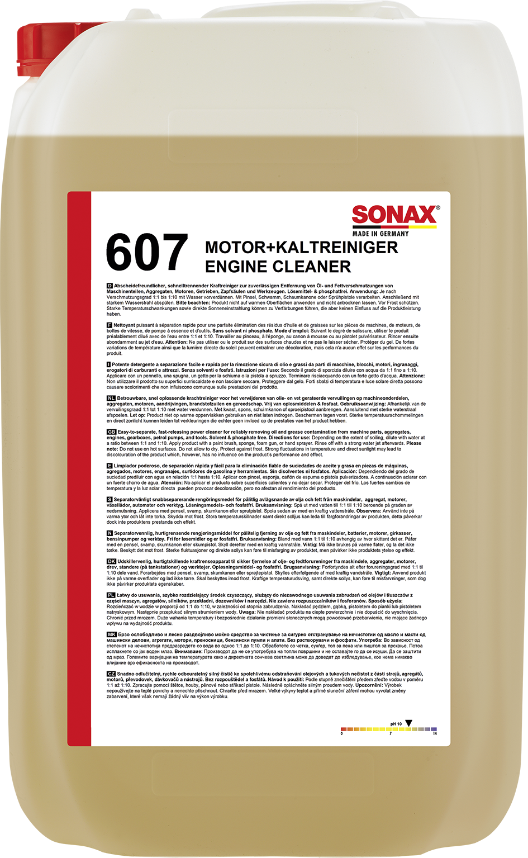 SONAX 06077050  Motor- & KaltReiniger 25 l