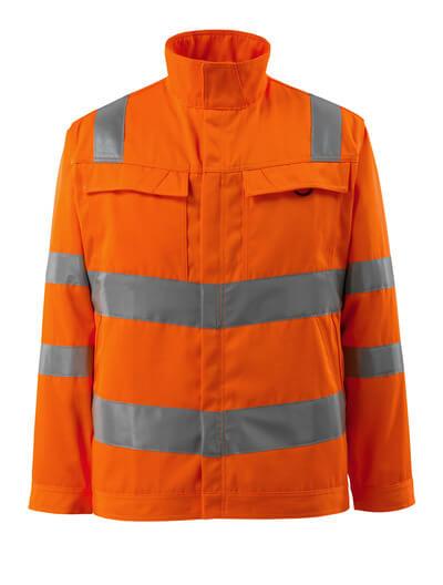 MASCOT® Bunbury Arbeitsjacke Größe L, hi-vis orange
