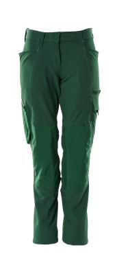 Hose, Damen,Diamond, Knietaschen,Stretch Hose Größe 76C54, grün