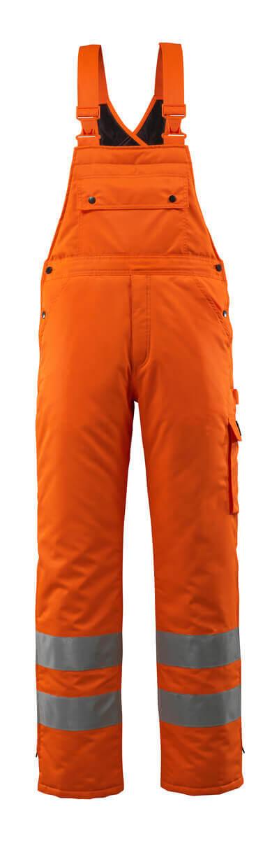 MASCOT® Lech Winterlatzhose Größe 3XL, hi-vis orange