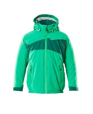 Winterjacke für Kinder, CLIMASCOT® Jacke für Kinder Größe 128, grasgrün/grün