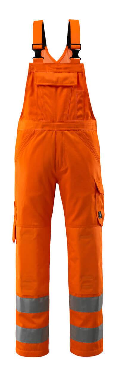 MASCOT® Devonport Latzhose Größe 82C44, hi-vis orange