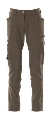 Hose, Damen, Pearl, Knietaschen, Stretch Hose Größe 82C54, dunkelanthrazit