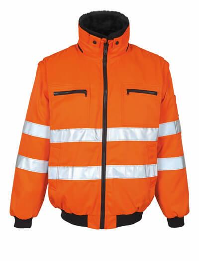 MASCOT® Innsbruck Pilotjacke Größe L, hi-vis orange
