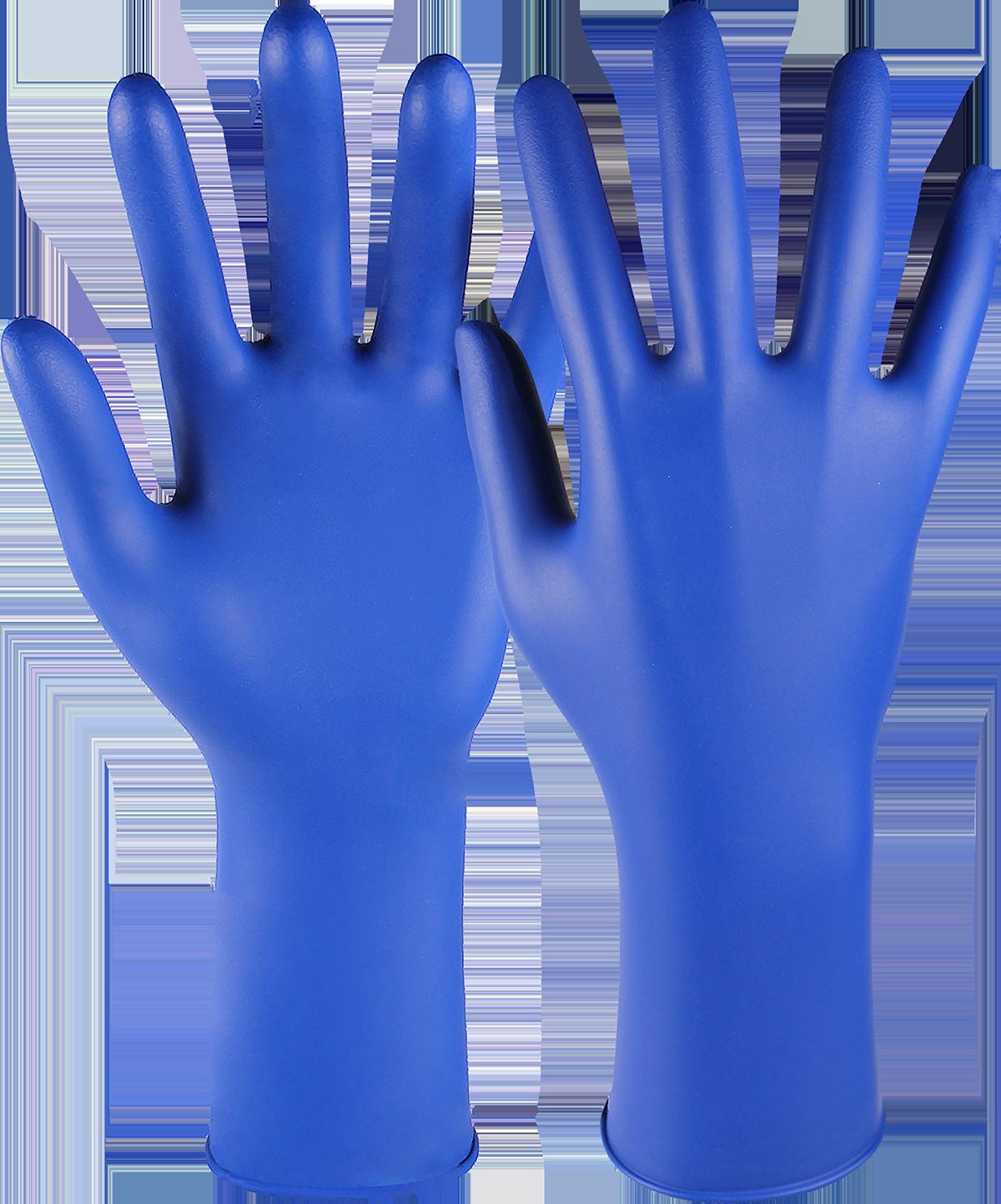 DRESDEN PLUS, Einweg-Chemikalienschutzhandschuh Typ B, Größe 6