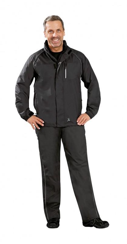 Outdoor Monsun Jacke schwarz S