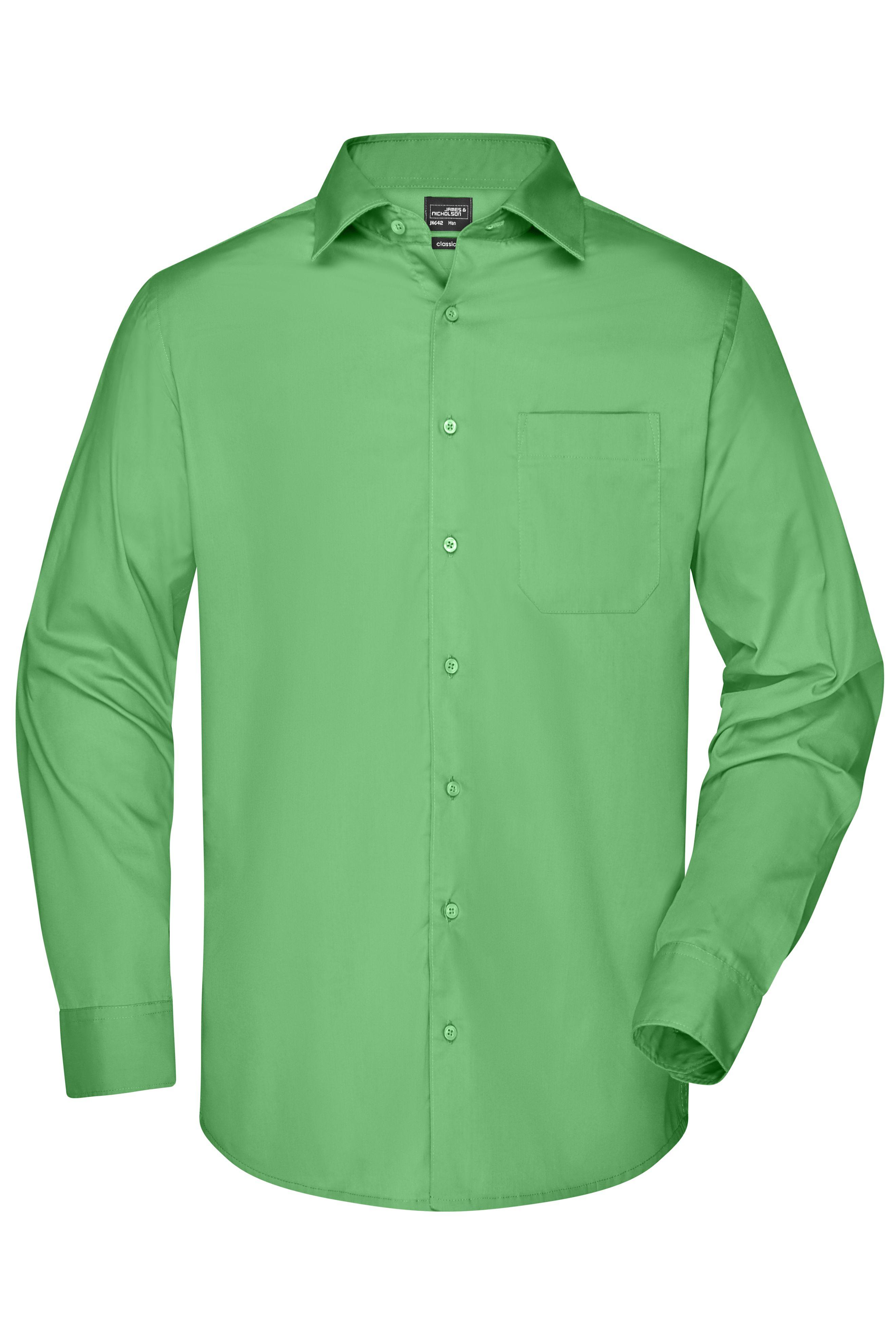 Klassisches Shirt aus strapazierfähigem Mischgewebe
