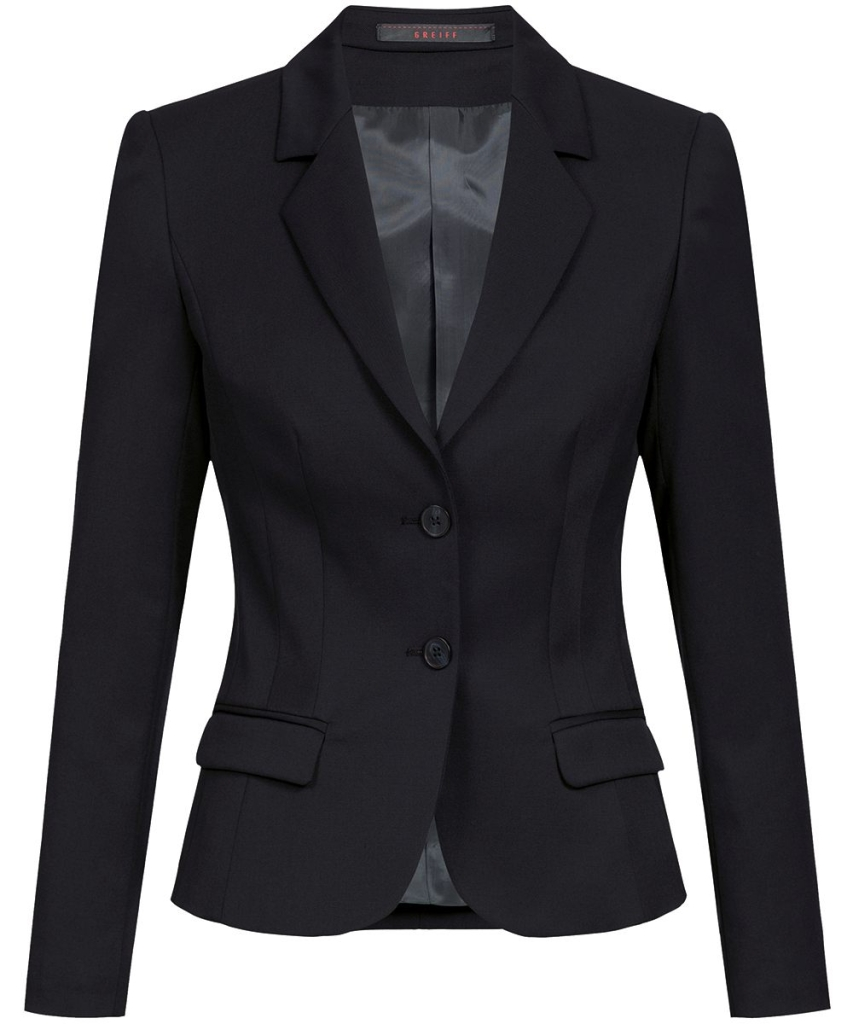 Damen-Blazer Slim Fit  Basic