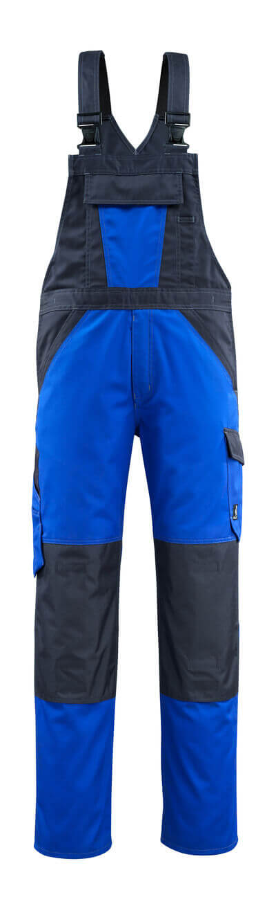 MASCOT® Leeton Latzhose Größe 76C50, kornblau/schwarzblau