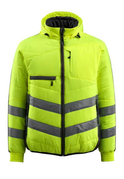 MASCOT® Dartford Thermojacke Größe L, hi-vis gelb/schwarz