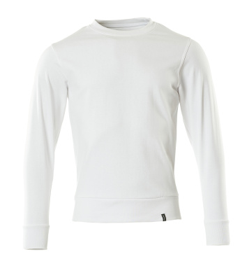 Sweatshirt,moderne Passform, Sustainable Sweatshirt Größe 2XLONE, weiss