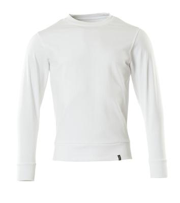 Sweatshirt,moderne Passform, Sustainable Sweatshirt Größe 2XLONE, weiss