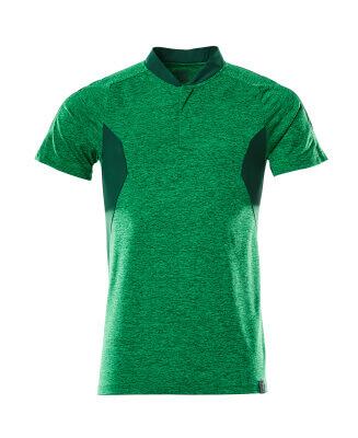 Polo-Shirt, COOLMAX®PRO,moderne Passform Polo-shirt Größe 5XLONE, grasgrün/grün