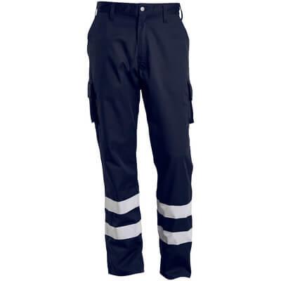 Hose, Schenkeltaschen, geringes Gewicht Servicehose Größe 82C62, schwarzblau